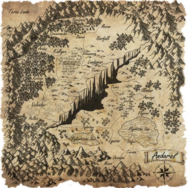 Karte von Andural